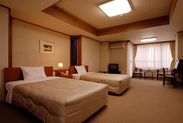強羅アサヒホテルの洋室