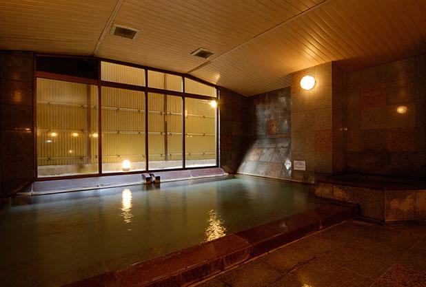 強羅アサヒホテルの大浴場
