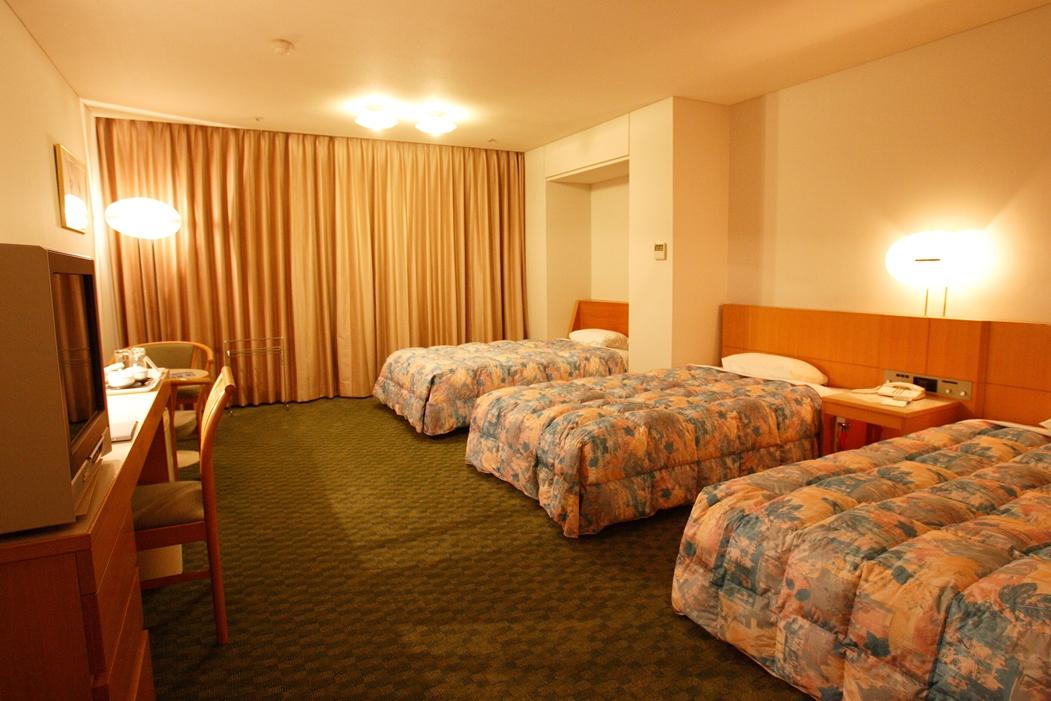 洋室の3ベッドタイプ