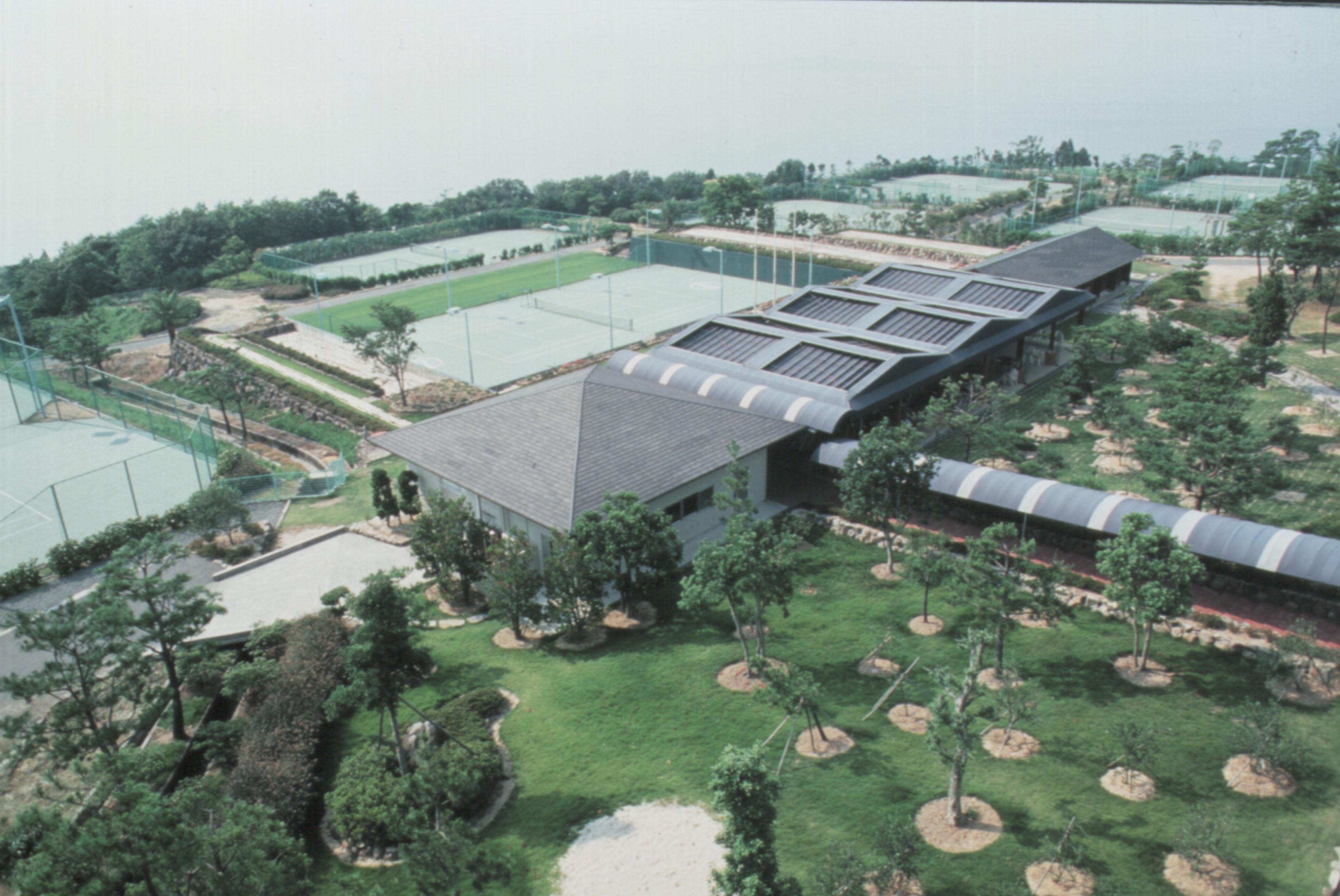 ホテルオリビアン小豆島全景