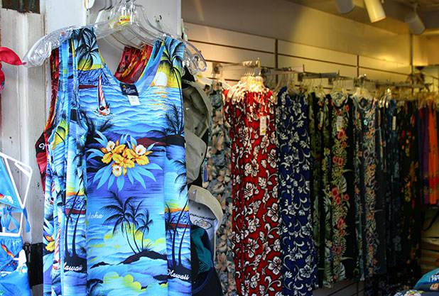 ハワイでショッピング