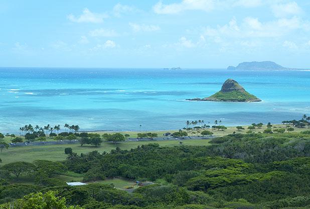 チャイナマンズ・ハット(モコリイ島)