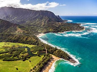 ハワイの島めぐり