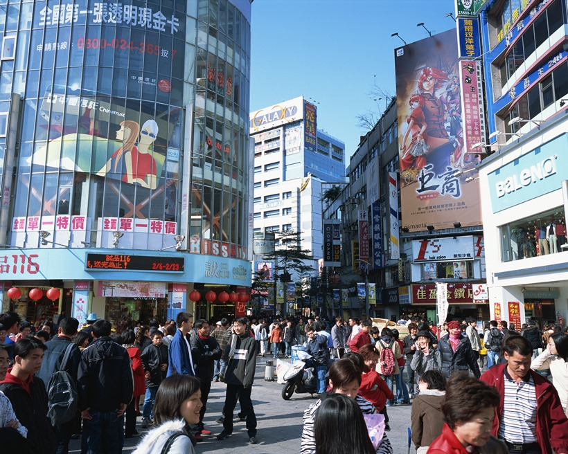 台湾でショッピングを楽しもう