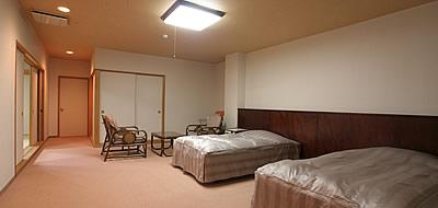 ベットタイプ寝室も有