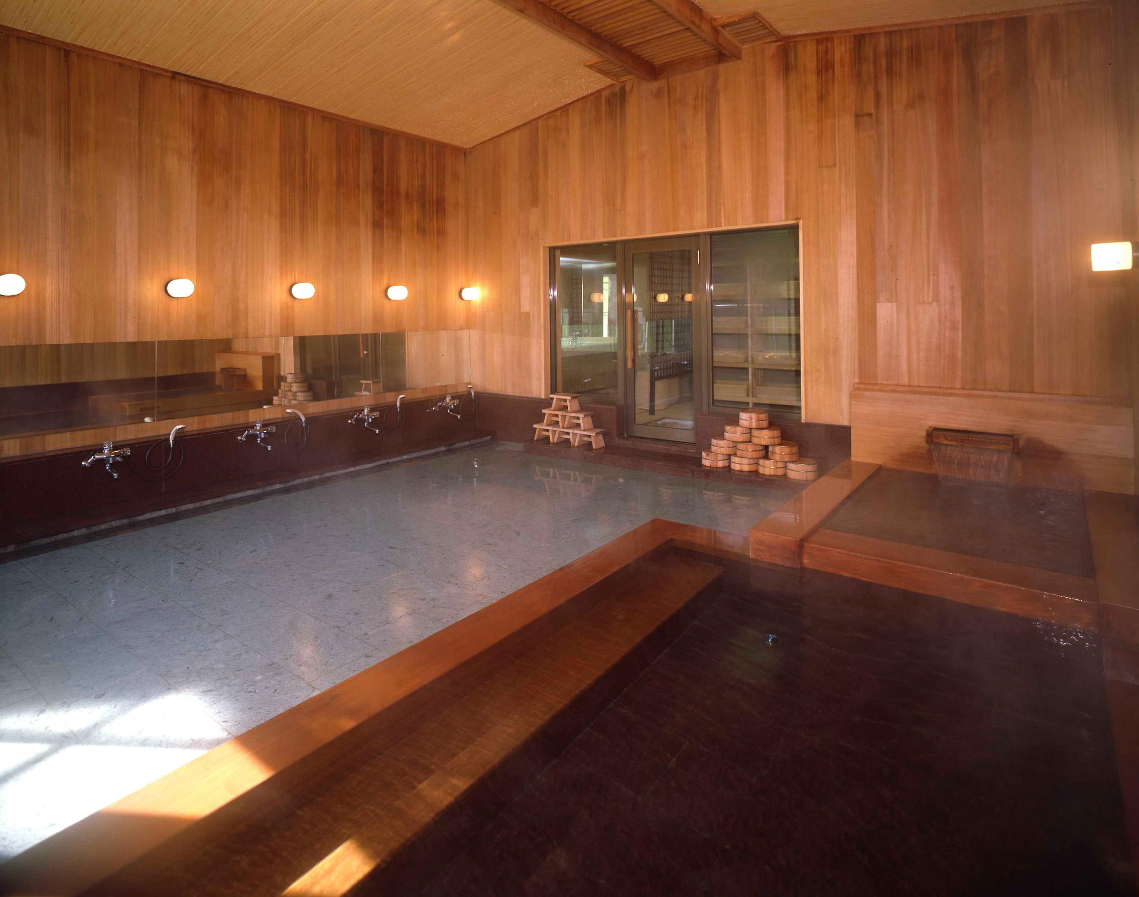 箱根水明荘大浴場
