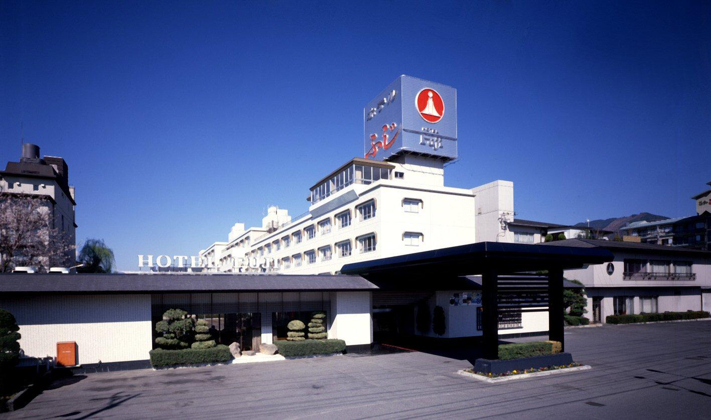 ホテルふじ外観