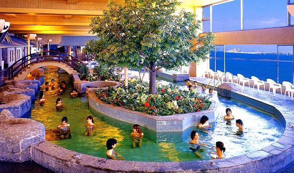男性大浴場龍宮の湯
