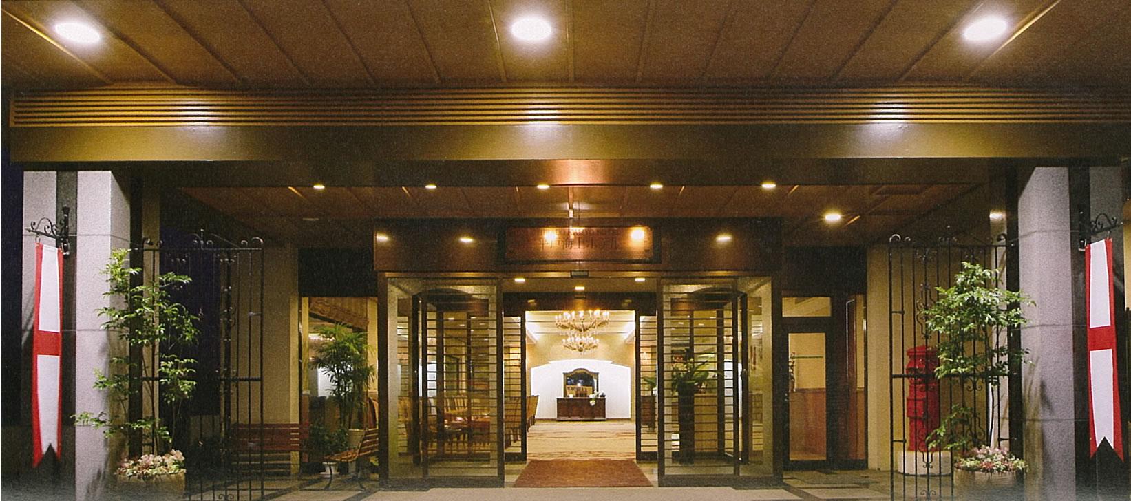 平戸海上ホテル エントランス