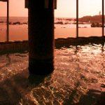 リゾートイン白浜温泉からの夕日