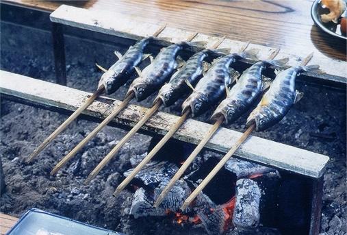 アマゴ料理