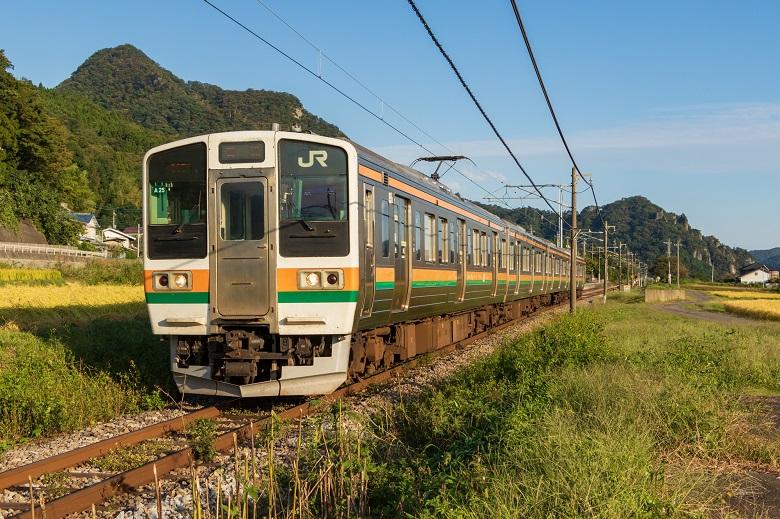 吾妻線普通列車