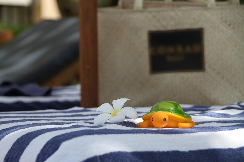 バリ島でビーチリゾート気分を味わって