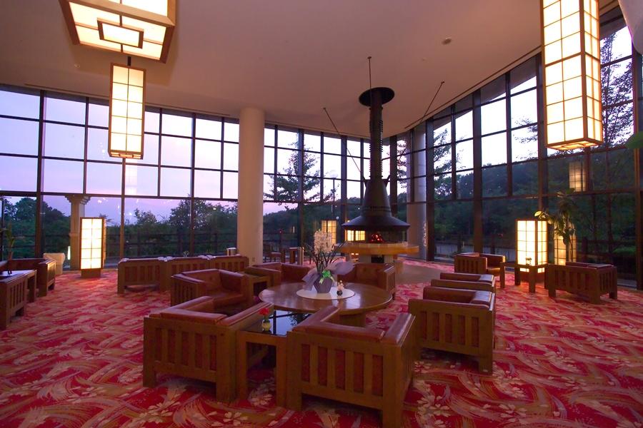 ホテルグリーンパール那須のロビー