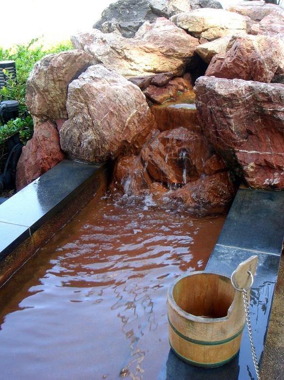 舘山寺温泉の足湯