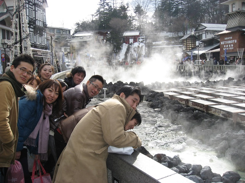 社員旅行で草津温泉はおすすめ