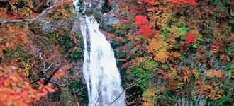 日本の滝百選に選ばれた秋保大滝