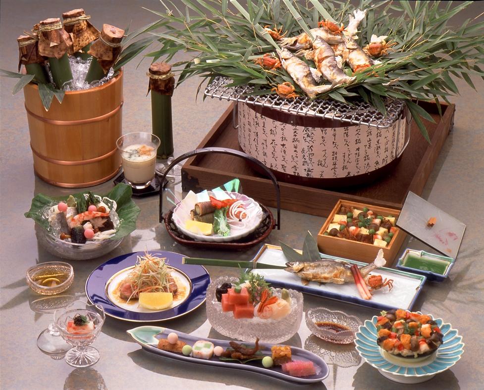 夏のお料理(一例)