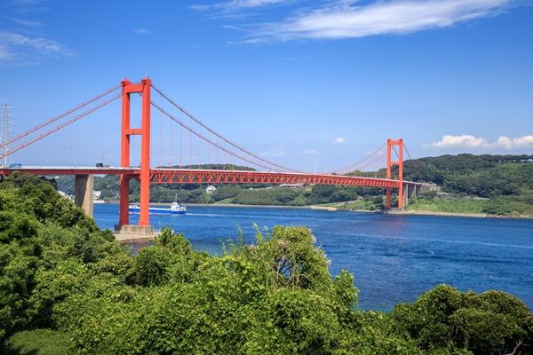 長崎の平戸橋