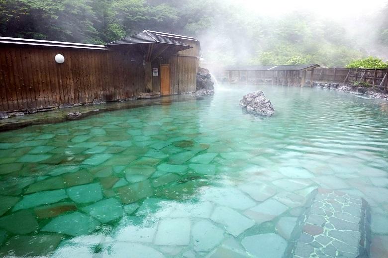 西の河原公園露天風呂