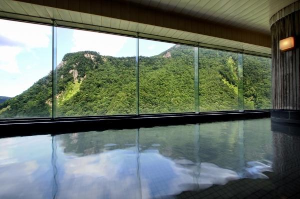 層雲峡温泉