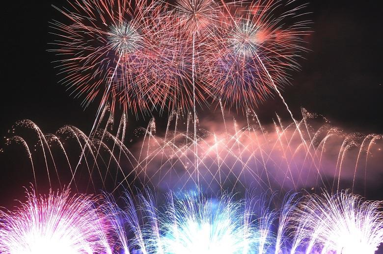 千曲川の花火大会