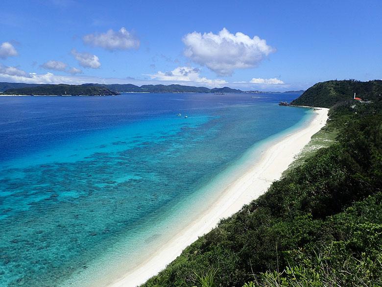 ケラマブルーと呼ばれる美しい海