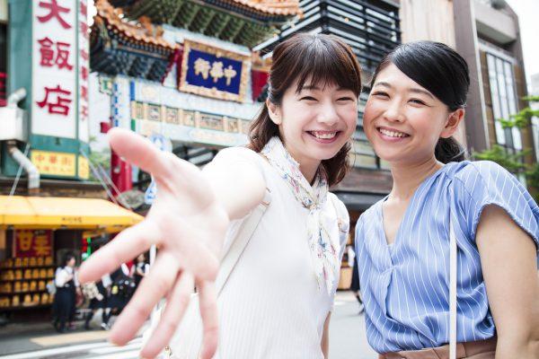 中華街で食べ歩き