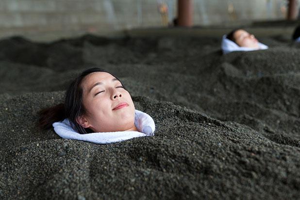 砂むし温泉(砂風呂)イメージ