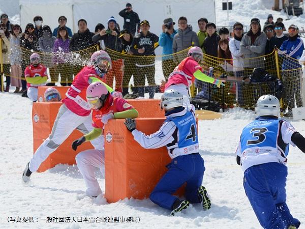 スポーツ雪合戦は北海道有珠群で1988年にスタート