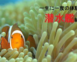 一生に一度の体験「潜水艦」編
