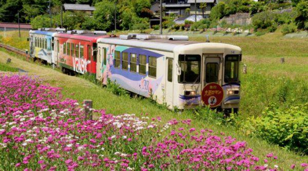 明知鉄道の企画列車とは
