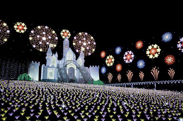 あしかがフラワーパーク光の花の庭
