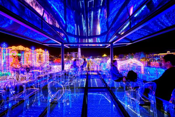 ハウステンボス光の円空カフェ