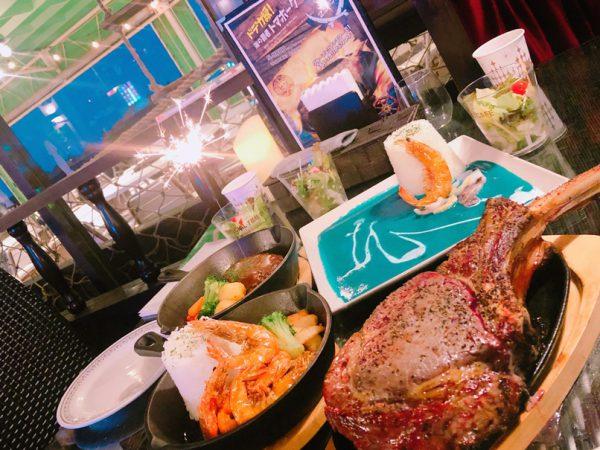 レストランのお料理