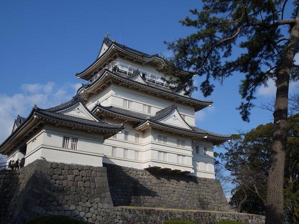 小田原城でコスプレ体験