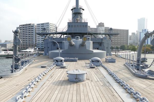 横須賀・記念艦「三笠」