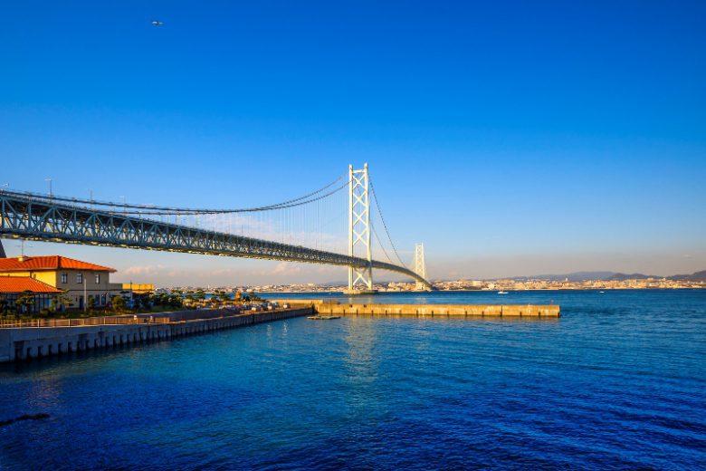 明石海峡大橋 淡路島 兵庫県