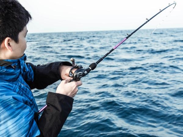 釣りも人気のアクティビティ