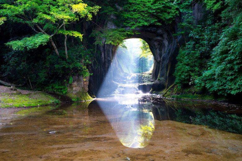 君津市・濃溝(のうみぞ)の滝