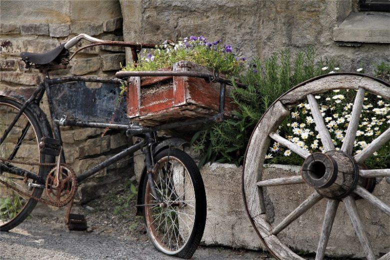 英国の風景がひろがるドゥリムトン村