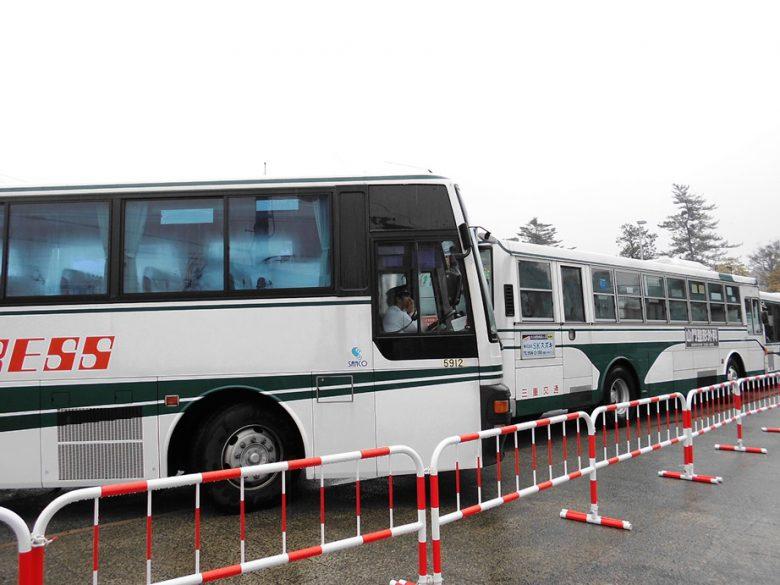 伊勢神宮・内宮行のバス