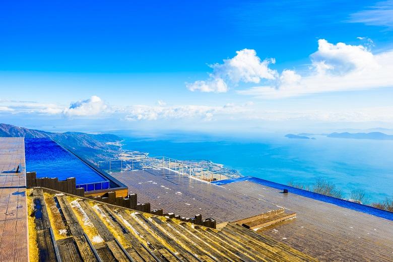 滋賀の新しい絶景スポット・びわ湖バレイ