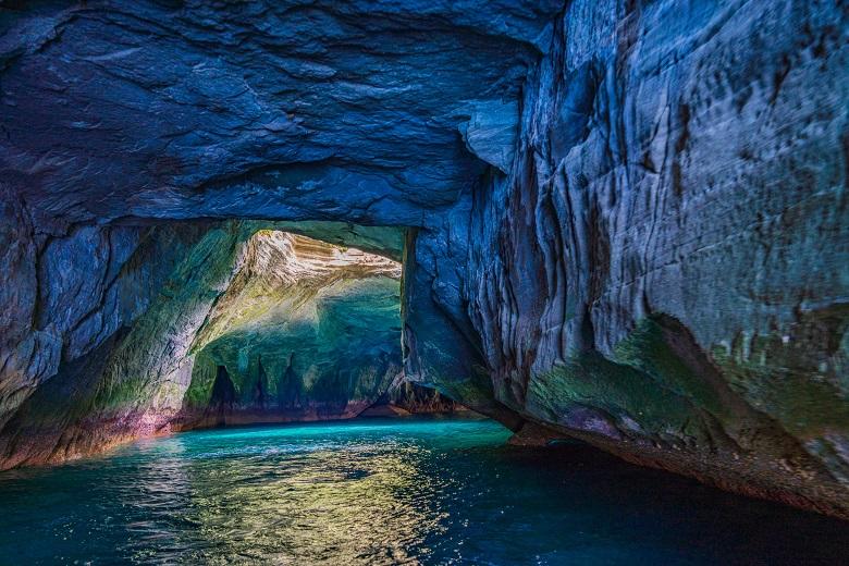 堂ヶ島の洞窟巡り