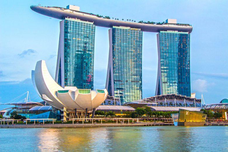 シンガポールのベイエリア
