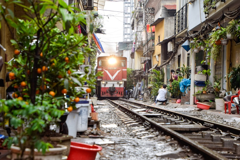 ノスタルジックな光景が広がるベトナム・ハノイ