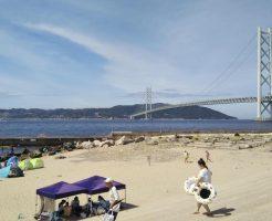 関西から日帰りで楽しめる絶景ビーチ「アジュール舞子」