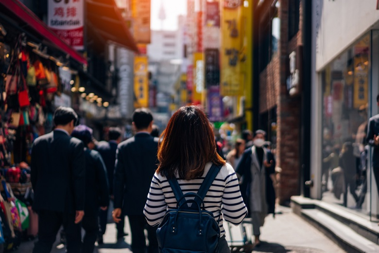 街歩きが楽しい秋の韓国