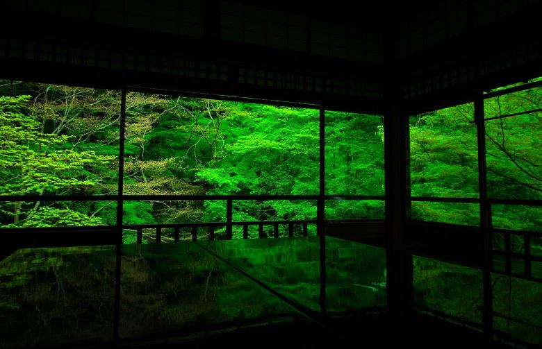 青紅葉 京都瑠璃光院