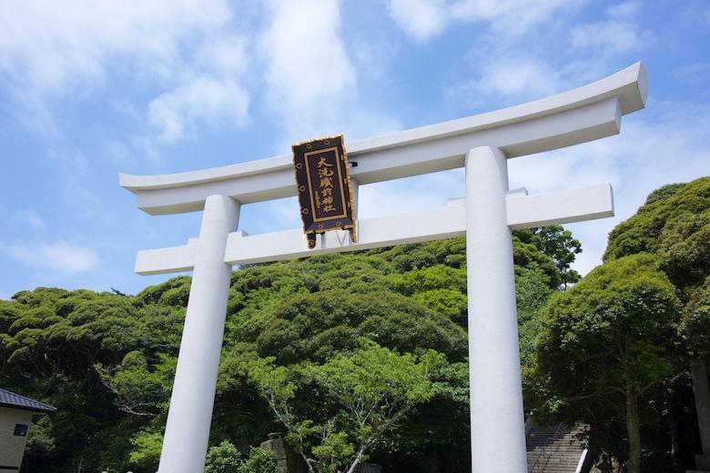 大洗磯前神社の二の鳥居